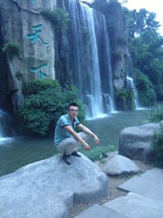 眉山旅游景点瀑布